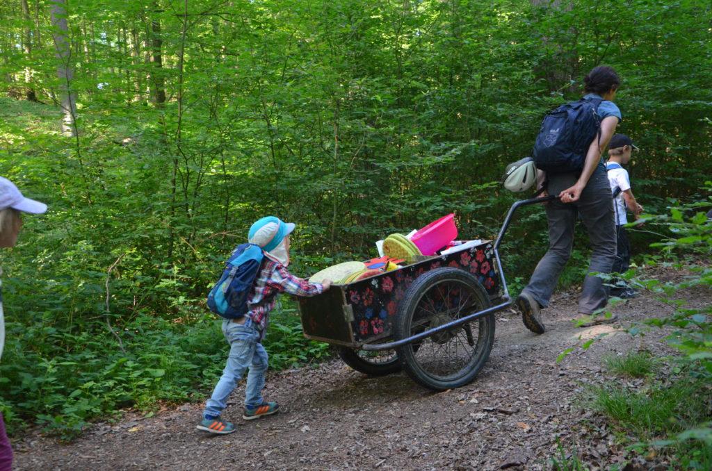 Unser Zauberwaldwagen